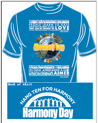Harmony Day T-Shirts Available For Purchase!