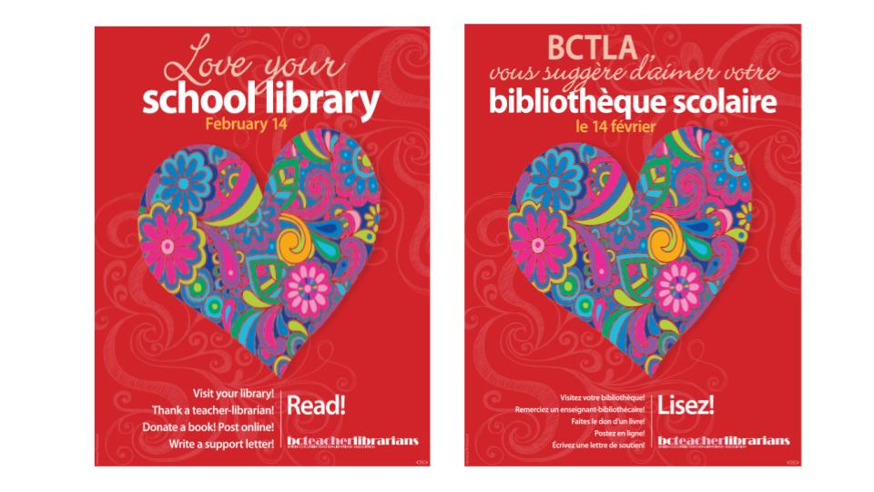 February is Love Your School Library Month!