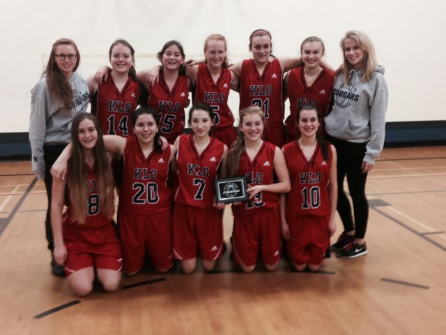Grade 9 Girls Win Championship in Midway Tournament