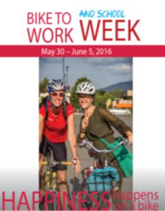 Bike To Work and School Week Is Coming
