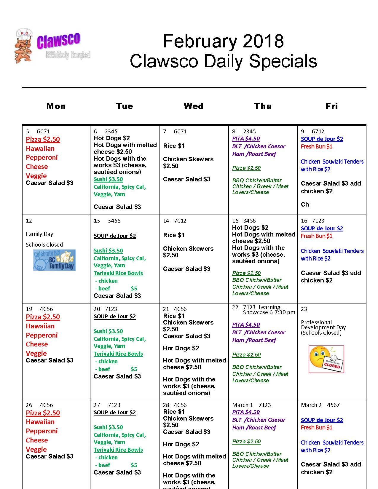 January 2018 CLAWSCO daily specials.jpg