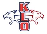 École KLO Middle School logo